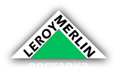 логотип компании Доставка Леруа Мерлен