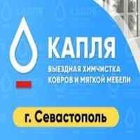 логотип компании Химчистка мебели и ковров Капля